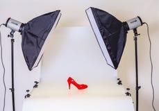Fototabell för produktfotografi royaltyfri bild