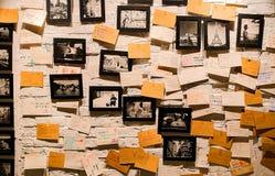 Fotovägg Arkivbild