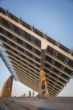 Fotovoltaic buiding - duży w Hiszpania w strefie Fo Zdjęcia Royalty Free