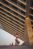 Fotovoltaic buiding - duży w Hiszpania w strefie Fo Obrazy Stock