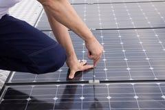 Fotovoltaico Fotografía de archivo