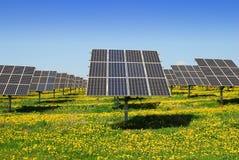 Fotovoltaico Fotografie Stock Libere da Diritti