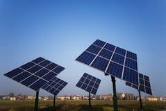 Fotovoltaico Immagine Stock Libera da Diritti