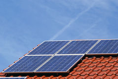 Fotovoltaico Immagine Stock