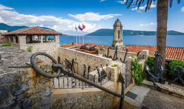 Fotre Mare ancient fortress on the Adriatic sea Royalty Free Stock Image