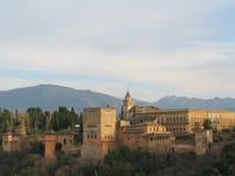 fotress alhambra Стоковое Фото