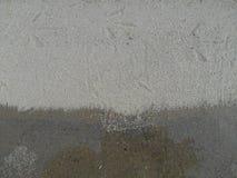 Fotspår i sandanden tafsar Arkivbilder