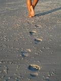 fotspår Arkivbilder