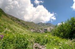 fotvandra berg Royaltyfri Foto