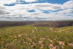 Fotvandra den Kalbarri nationalparken Arkivbild
