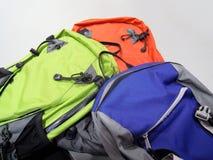 fotvandra för ryggsäck Arkivbild