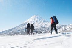 Fotvandra för vinter Arkivbilder