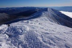 Fotvandra Franconiaen Ridge Royaltyfri Bild