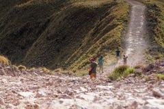 Fotvandra i Costa Rica arkivfoton