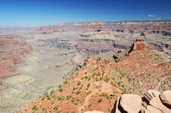 Fotvandra i Grand Canyon, Arizona, USA Royaltyfria Bilder