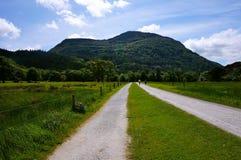 Fotvandra i killarney Irland royaltyfri foto