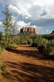 fotvandra kullar för lera Arkivfoto