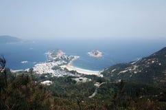 Fotvandra på Hong Kong Arkivbilder