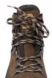 fotvandra shoelace för känga Royaltyfri Fotografi