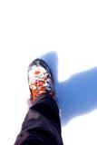fotvandra sko Royaltyfria Bilder