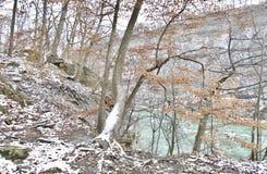 Fotvandra slingan i Niagaraen på sjön Royaltyfri Foto