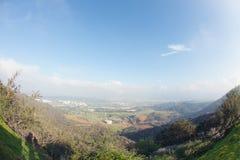 Fotvandra slingan till Hollywood, en vandring på monteringslän, Hollywood, Kalifornien royaltyfri bild