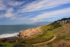 fotvandra sutrotrail för bad Royaltyfri Foto