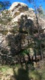 Fotvandra svarta Diamond Mines Royaltyfri Foto