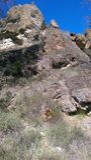 Fotvandra svarta Diamond Mines royaltyfri fotografi