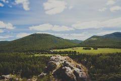 fotvandra trail royaltyfria bilder