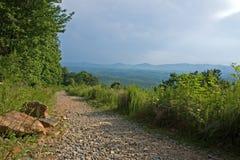 fotvandra trail Royaltyfri Fotografi