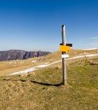 Fotvandra trail för berg Royaltyfri Foto