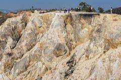 fotvandra trail för klippa Royaltyfri Bild