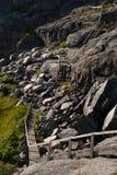 Fotvandra trail i sweden 3 Royaltyfria Foton