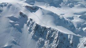 Fotvandrare i den Denali nationalparken Royaltyfri Fotografi