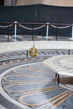 Foucault pendulum inside Paris Pantheon Royalty Free Stock Photography