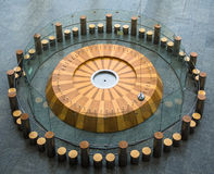 Foucault's Pendulum Science Experiment Royalty Free Stock Photos