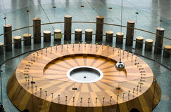 Foucault's Pendulum Science Experiment Royalty Free Stock Image