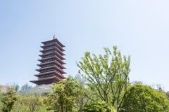 Fouding (Buddha top) pagoda Royalty Free Stock Photography