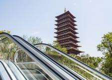 Fouding (Buddha top) pagoda Stock Photography