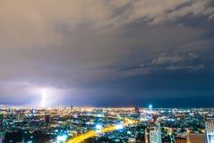 Foudre d'orage Photos libres de droits