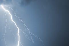 Foudre d'orage d'été Images stock