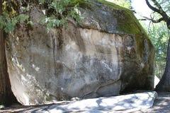 Foudre de minuit, Yosemite Photographie stock