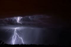Foudre de Tucson Photo libre de droits