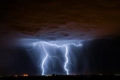 Foudre de Tucson Photographie stock