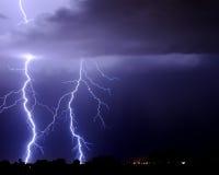 Foudre de Tucson Image libre de droits
