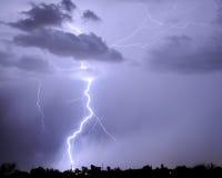 Foudre de Tucson Images stock