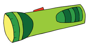 Foudre instantanée de dessin animé Photographie stock