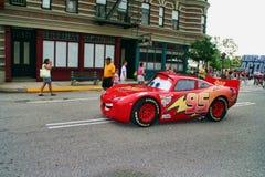 Foudre McQueen - voitures de Disney Pixar Image libre de droits