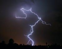 Foudre - Tucson, AZ Photographie stock libre de droits